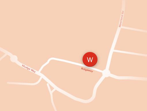 Woodside Plympton Map